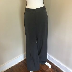 NWOT AK Anne Klein Stretch Gray Dress Pants Size 8